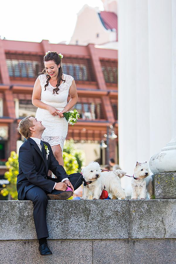 šunys vestuvėse, vestuvių fotosesija su šunimis, ar galiu fotografuotis su šunimis