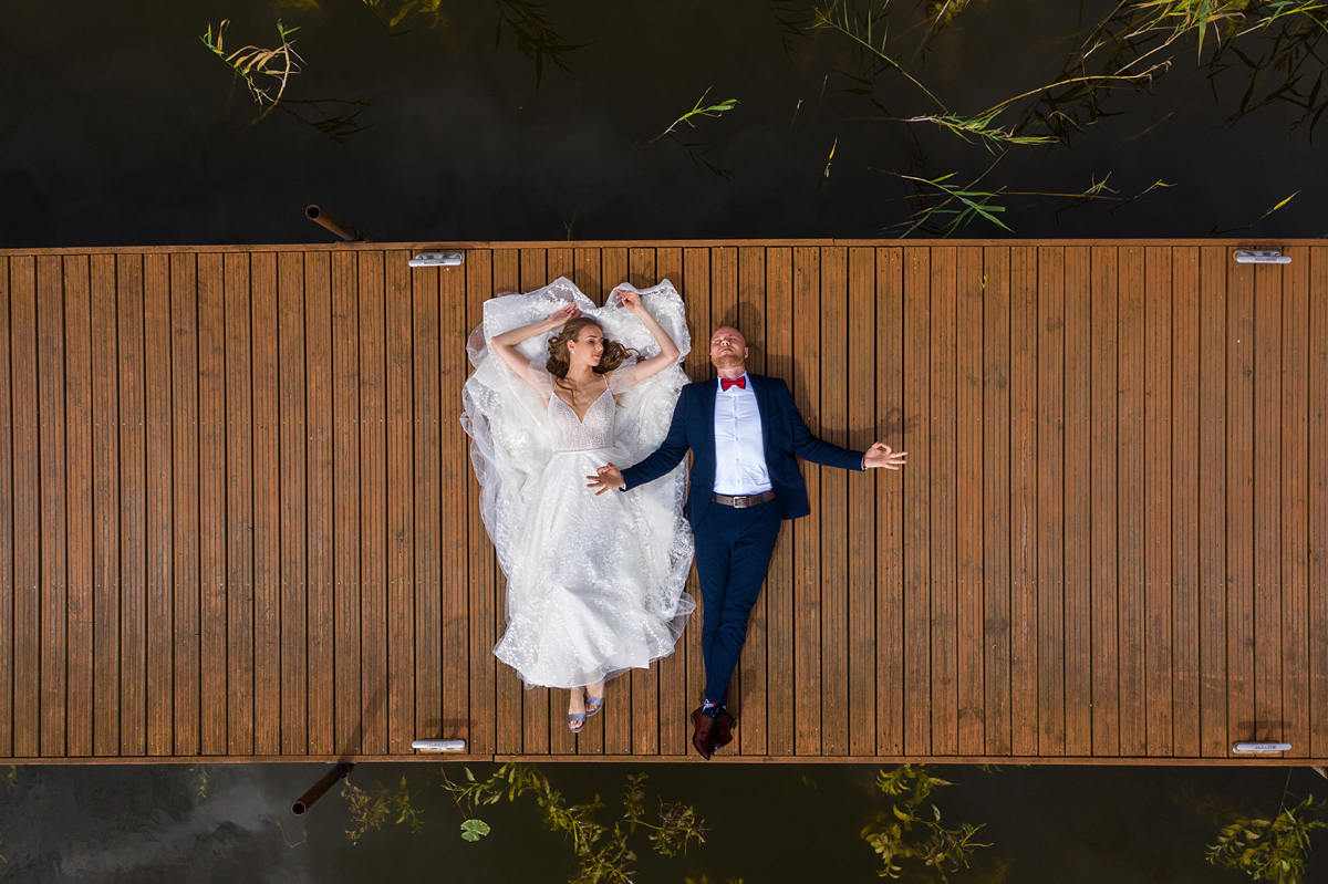 vestuvių fotografas su dronu, vestuvės su dronu, dronas vestuvėse, ant liepto