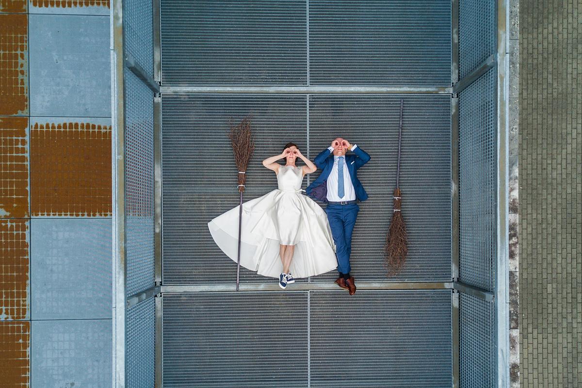 vestuvių fotografas su dronu, vestuvės su dronu, dronas vestuvėse, įdomios vestuvės, Haris Poteris